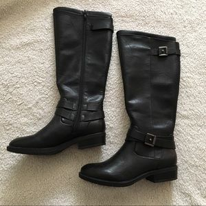 Bare Traps Yalina black riding boots size 6